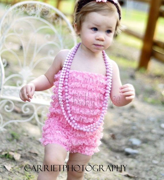 TODDLER PETTI ROMPER IN 16 COLORS BY CHIC BABY ROSE GREAT PHOTOGRAPHY PROP