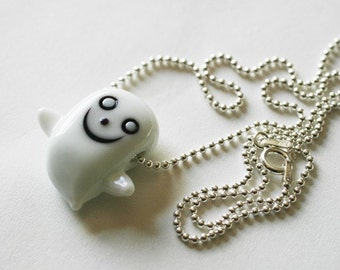 HAPPY GHOST NECKLACE