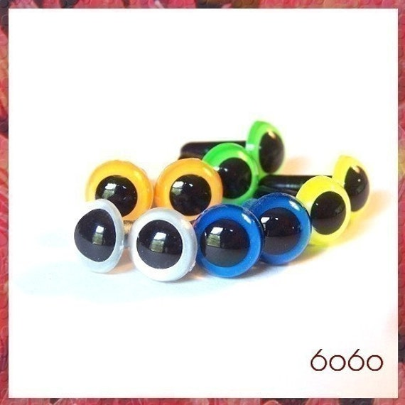 Safety Eyes Amigurumi Australia : 9mm Toys Animals Amigurumi Plastic Safety Eyes 5 PAIRS by 6060