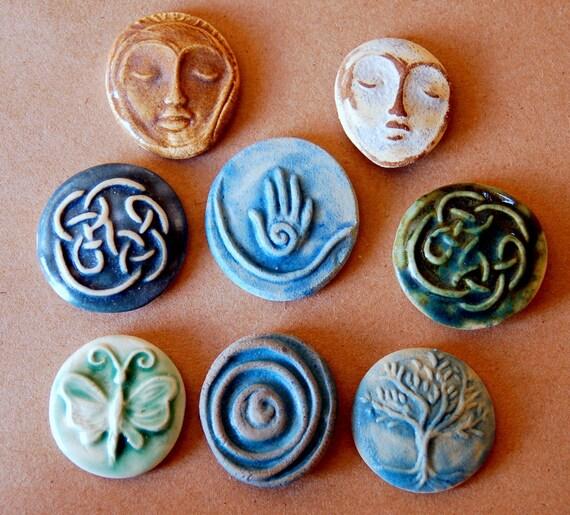 8 Ceramic Mosaic tiles