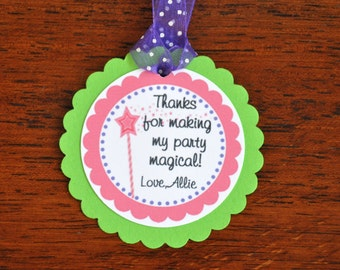 Princess Favor Tags. Favor Tags. Gift Tags. Princess. Fairy tale. Prince Charming. Castle. Set of 12