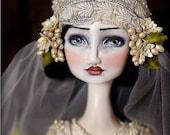 Art Doll Print-Azucena by Christine Alvarado