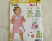 New Look sewing pattern 6576 Size A Newborn to Large