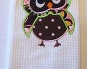 Cute Owl Towel