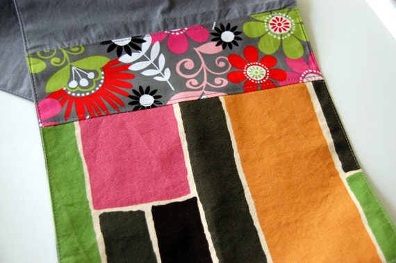 Steel and Summer Modern Cotton Hand Towel LAST ONE