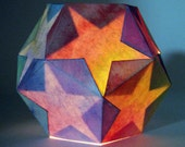 Star Lantern Kit  -- waldorf inspired handwork project