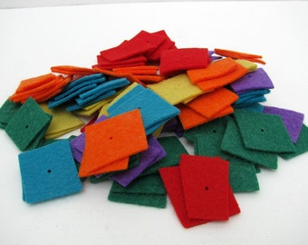 Wool and Hemp Garland Kit -- Farmer's Market colors