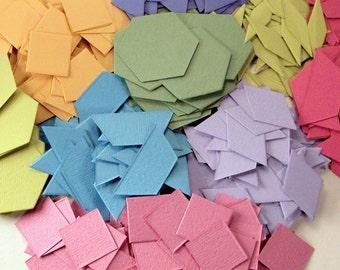 Math Can Be Beautiful -- 1200 cardstock pattern blocks