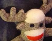 Sock Monkeys Need Friends Too - Moose