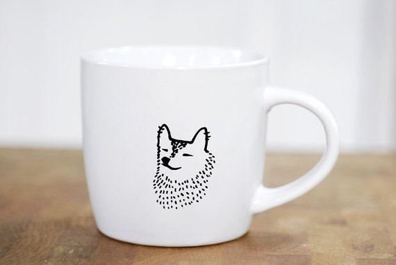 Zen Corgi mug