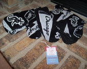 Custom fleece Chicago White Sox fleece mittens all sizes