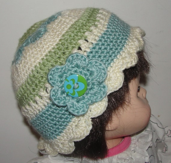 Toddler Flower Crochet Cloche Hat Pattern by dianelangan ...