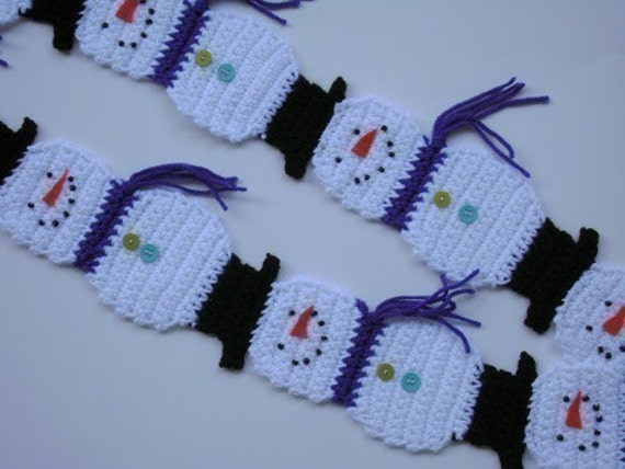 Displaying (19) Gallery Images For Snowman Scarf Template...