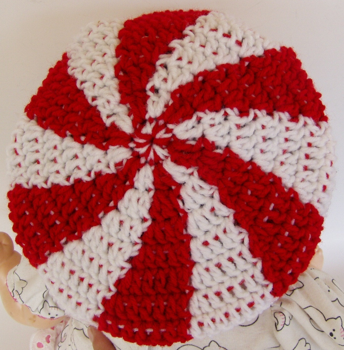 Crochet pattern for peppermint swirl candy tam hat toddler and zoom bankloansurffo Gallery