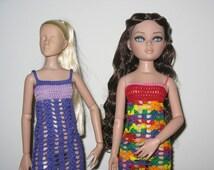 Ellowyne and Antoinette Maxi Dress Crochet Pattern