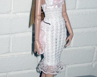 Antoinette's Shells and Bustle Dress Crochet Pattern for Tonner Antoinette or Cami Dolls