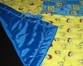 Spongebob Squarepants Baby Blanket