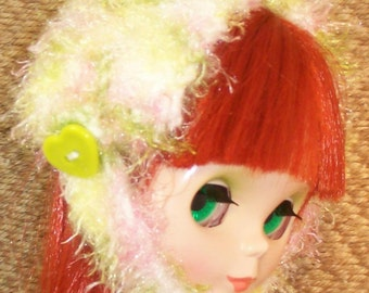 Winter Pastel Ear Cozy  - BLYTHE