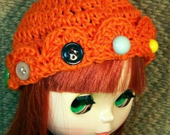 Button Mania   - 2 BLYTHE HATS