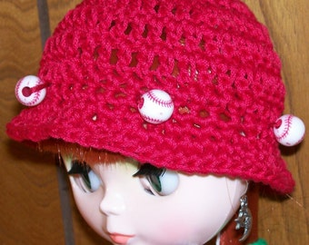 Take Me Out To The Ball Game   - BLYTHE HAT