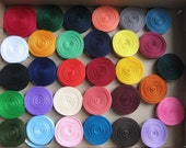 31 Colors of  1.5 inch Grosgrain Ribbon 1 yards of each Color