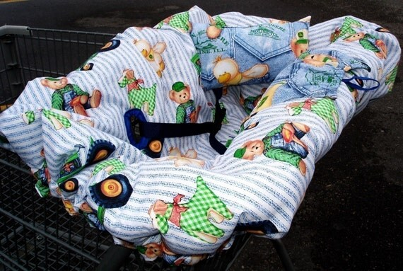 Ez SHOPPING CART COVER Instructions Pattern with Free Bonus Double/Twin Instructions Included pdf
