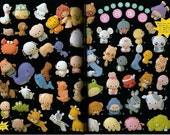 190 ADORABLE FELT ANIMAL MASCOTS - Japanese Craft Book RESEARVED FOR MOOME