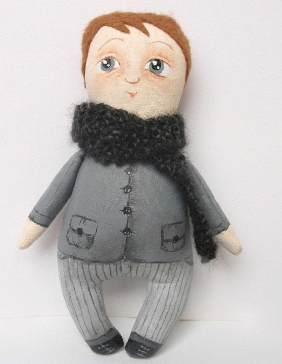 Raymond winter mini art doll