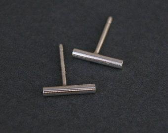 Mini Modern Sticks, post earrings