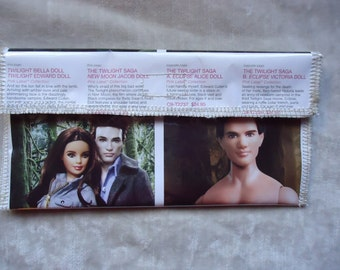 Twilight Bella and Edwards Wallet Clutch IPod IPhone Pencil Case Barbie organizer