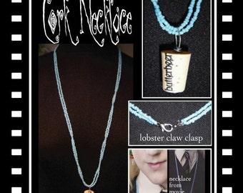 Authentic Cork Necklace (etsy)