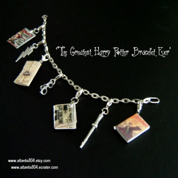 The GREATEST Harry Potter Bracelet Ever-Bracelet (etsy)