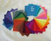33  pure wool felt sheets made of natural for needlecrafts and handwork