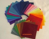 29  pure wool felt sheets made of natural for needlecrafts and handwork