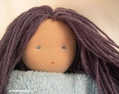 I4inch waldorf doll made of natural materials