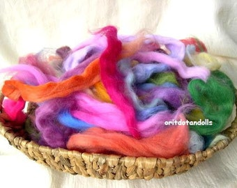 SALE-Merino wool hand dyed with eco colors, more then 30 colors 4oz/115gram