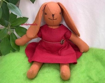 Bunny, 16inch made of natural material, for all ages