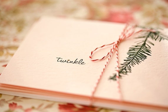 twinkle . 3 holiday cards
