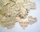 Vintage Romeo and Juliet Confetti