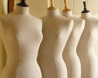 Display Mannequin Laura Ashley Dressform with or without Corset Laced back - Emma