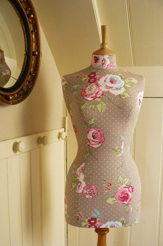 Items Similar To Vintage Style Home Decor Mannequin Female