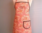 Carol Brady Apron in Pink Chocolate