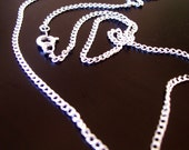 24 inch Silver Chain
