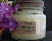 SWEET GARDENIA CANDLE - Strong - Flowers Floral