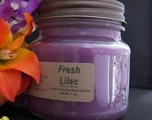 FRESH LILAC CANDLE - Strong - Flowers Floral