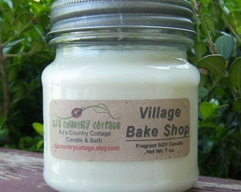 VILLAGE BAKE SHOP SoY Candle - Highly Scented