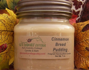 CINNAMON BREAD PUDDING Candle - Strong