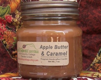 APPLE BUTTER and CARAMEL Candle - Strong