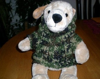 Camo Dog Sweater