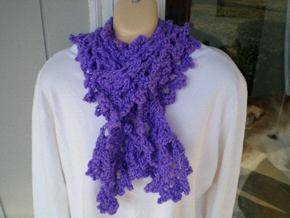 Solid Scarf Series Purple